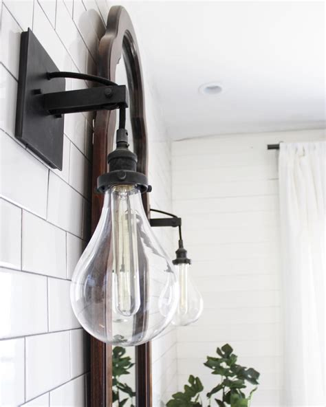 bathroom scones industrial bathroom sconce see this instagram photo by