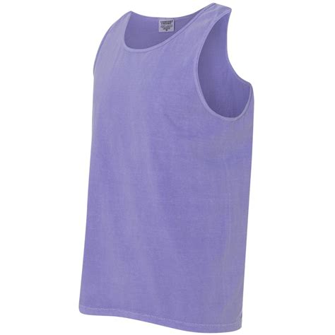 Comfort Colors 9360 by Comfort Colors 9360 Garment Dyed Heavyweight Ringspun Tank Top Violet Fullsource