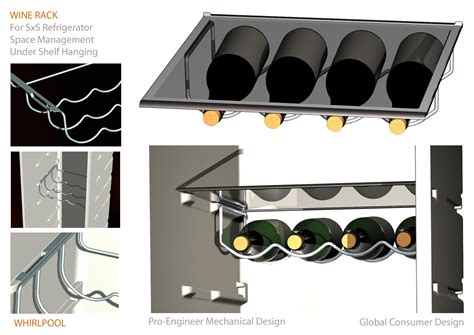 Wine Rack For Refrigerator by Home Appliances By Alberto Borgo At Coroflot