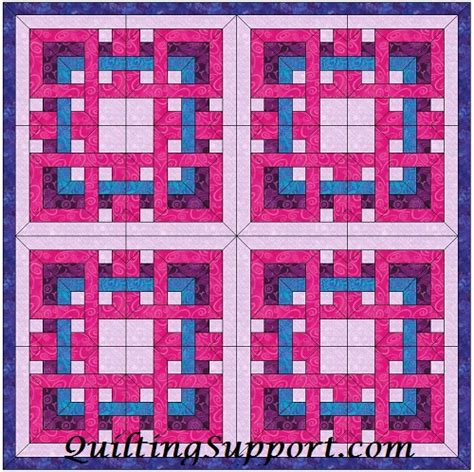 french knot bedspread pattern chain quilting template patterns