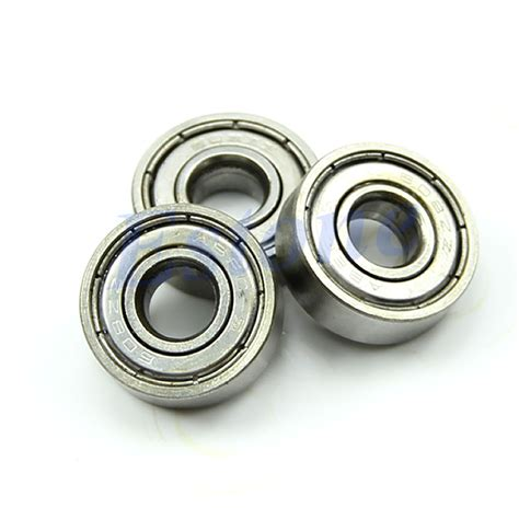 Custom 520 Bearings 10 Pcs Set For Roller Tamiya Mini 4wd 94752 10pcs silver roller skateboard sco oter blade bearings wheels abec 5 608 zz
