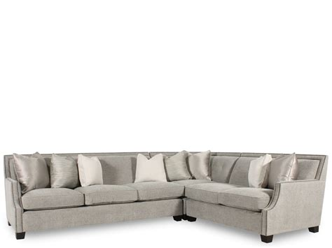 bernhardt sectional sofa with chaise bernhardt interiors franco three piece sectional family