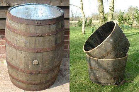 Make Vertical Garden - buy half oak barrels tubs for the garden buy whole barrels amp half barrel planters and half tubs