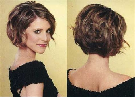 back view wavy short bob for thick hair 2015 20 flawless short stacked bobs to steal the focus instantly