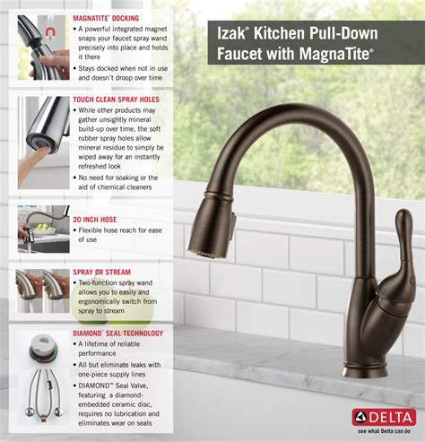 delta izak kitchen faucet delta deluca single handle pull gallery also izak