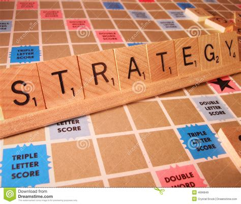 scrabble words with z and w business concept strategy scrabble word stock image