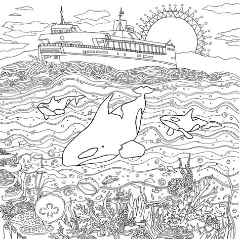 coloring pages for adults landscapes coloring pages legendary landscapes colouring grows up