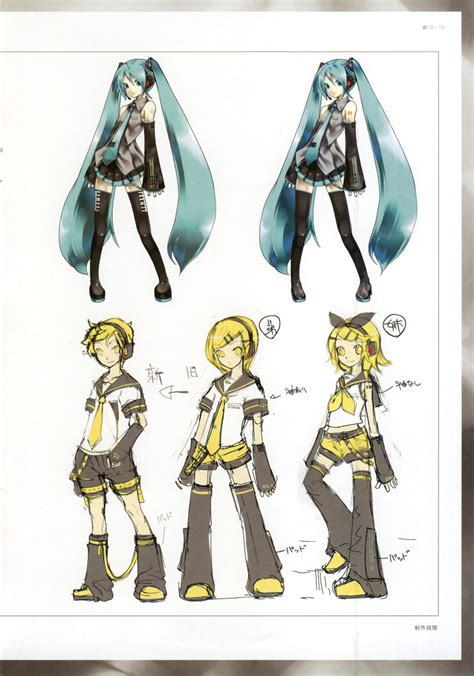 design len vocaloids unofficial illustrations vocaloid wiki voice