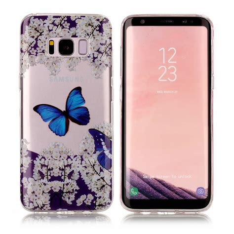 Softcase Anticrack Samsung S8 Soft Casing Cover Clear patterned ultra slim soft rubber tpu clear gel cover for samsung s8 s7 edge ebay