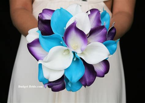 purple and turquoise wedding centerpieces turquoise and purple wedding flowers blue wedding