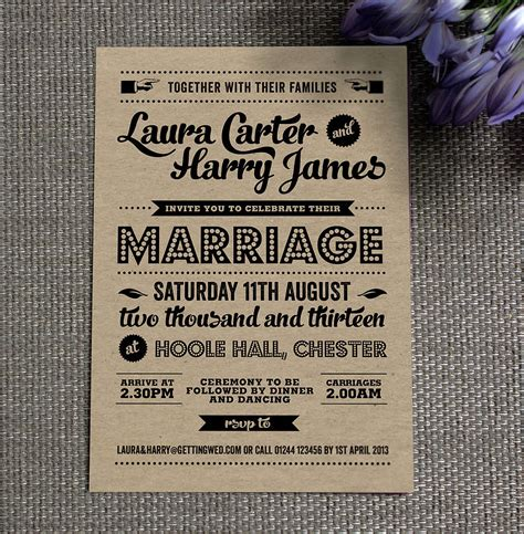 Wedding Invitation Vintage by Vintage Wedding Invitations For And Timeless