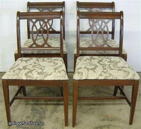 Dining Room Furniture Auctions Antique Set Mahogany Dining Chairs At Antique Furniture Us