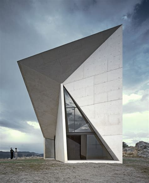 modern architecture chapel in valleaceron s m a o archdaily