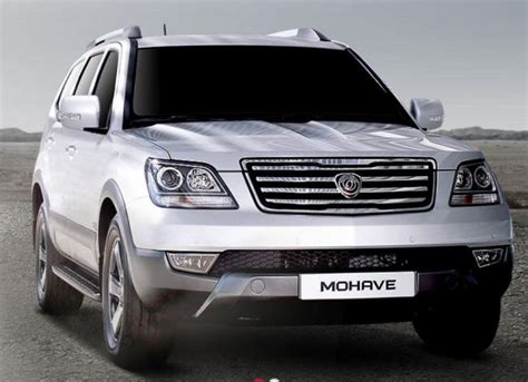 Suv Sleeper by Kia To Introduce Facelifted Mohave Suv Next Month Made