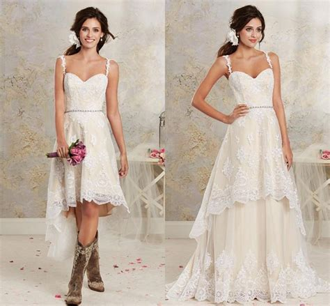 casual wedding dress pink discount casual light chagne lace high low country