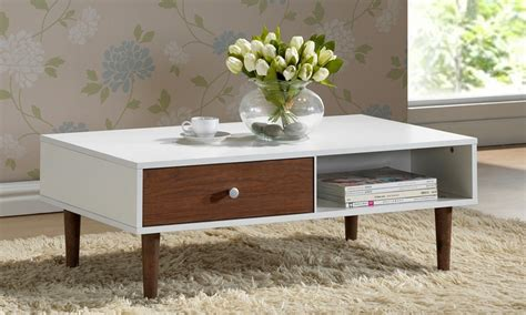 Walnut Effect Coffee Table Up To 26 On Walnut Effect Coffee Table Groupon Goods