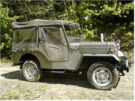 mitsubishi j54 1979 j54 mitsubishi diesel willys style jeep for sale