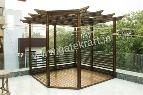 stainless steel pergola manufacturers contractors in gurgaon