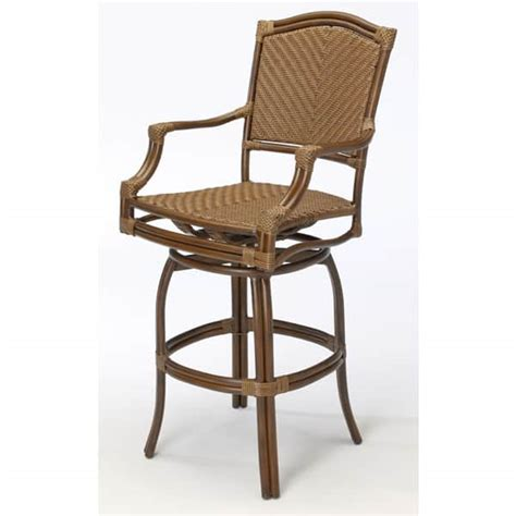 Bar Stool Patio Furniture by St Croix Outdoor Patio Bar Stools By Summer Classics