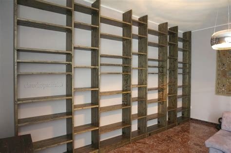libreria tutta parete libreria tutta parete falegname su misura bologna