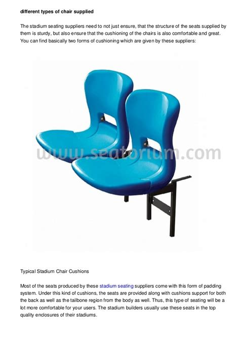 types of chair seats different types of furniture given by the arena seat