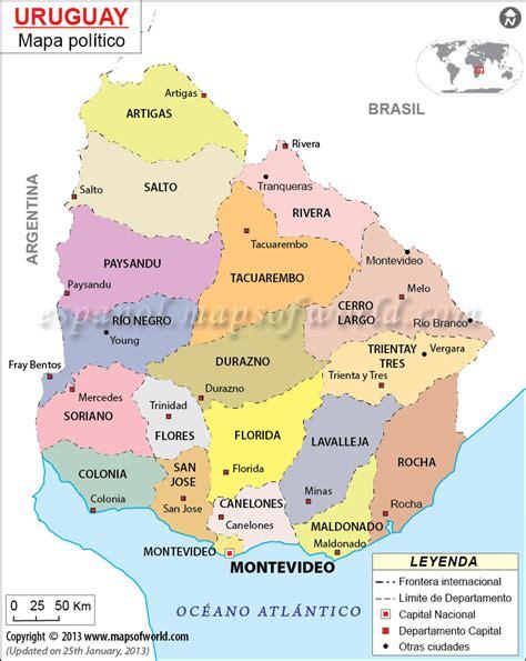 imagenes satelital del uruguay mapa politico de uruguay mapa del uruguay