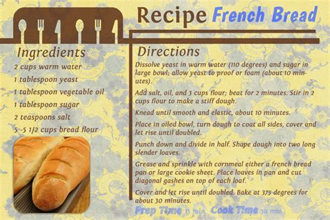 french 75 recipe card digital scrapbooking kit value pack gourmet kitchen by