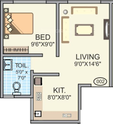 450 sq ft floor plan 450 sq ft 1 bhk floor plan image veenaa colours