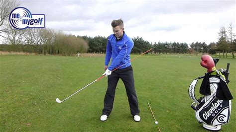 golf swing for beginners with drills golf drill swing on plane in the backswing youtube