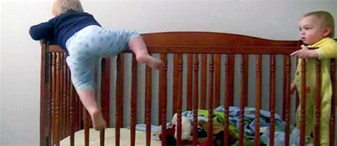 Babies Escaping Cribs by Mission Impossible Babies Escape Punchbaby