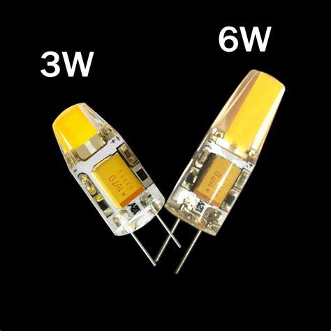 g4 cob 12v cob led bulbs 3w 6w ac12v led g4 cob l