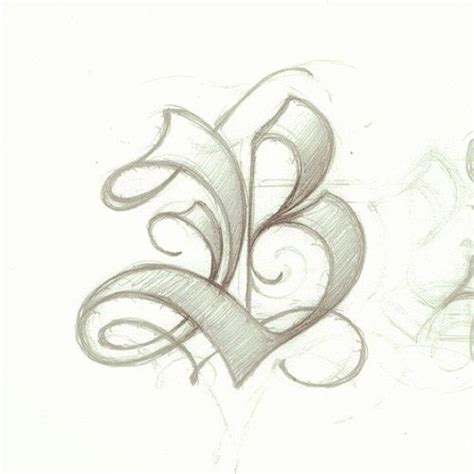 tattoo letter b designs 1000 ideas about letter b on b