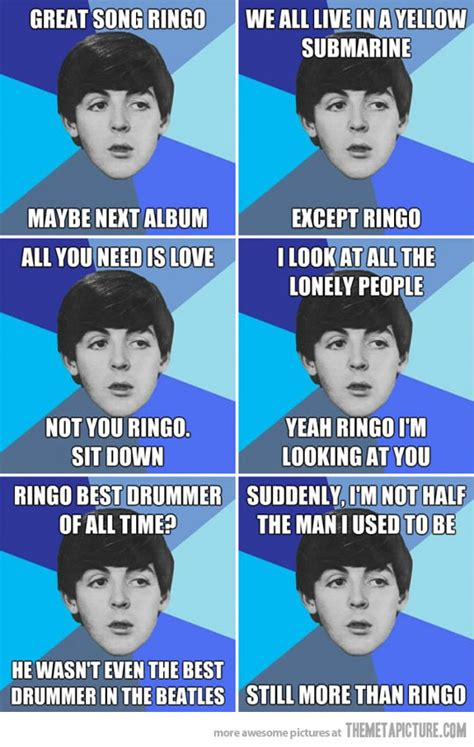 Beatles Meme - funny beatles quotes and jokes laugh away humoropedia