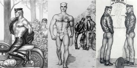 tom of finland crossing over to the realm of fine art