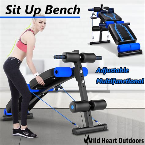 sit up bench canada sit up abdominal bench adjustable press weight gym