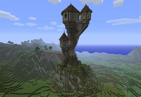 3 Towers ? Minecraft Building Inc