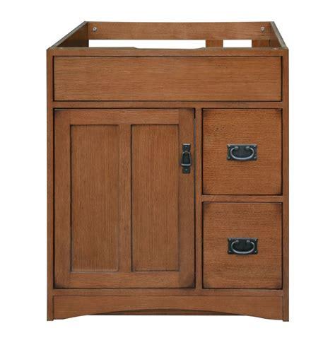 wood mo3021d craftsman mission oak 30 quot vanity
