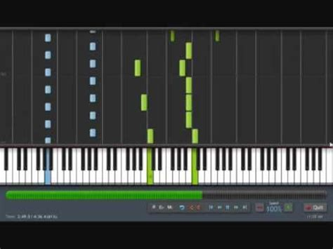 tutorial piano inception inception time piano solo peacemaker arrangement