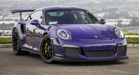 light purple porsche purple beast vorsteiner goes to town on porsche 911 gt3 rs