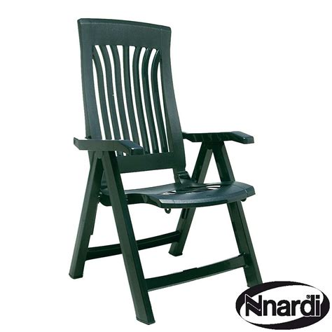 Garden Reclining Chair by Flora Chair Green