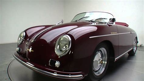 porsche 356 replica 135403 1956 porsche 356 speedster replica youtube