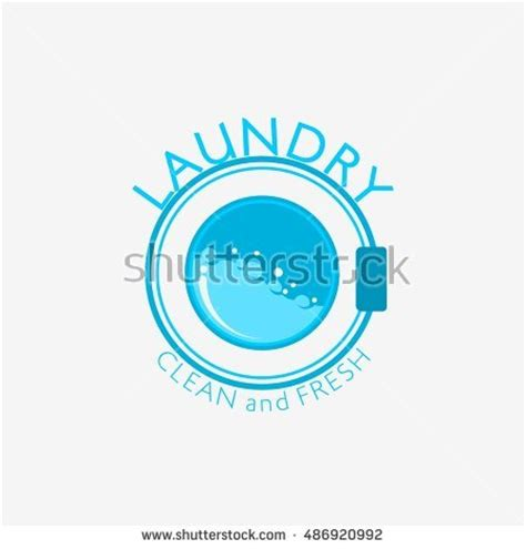 logo design laundry service laundry service stock images royalty free images