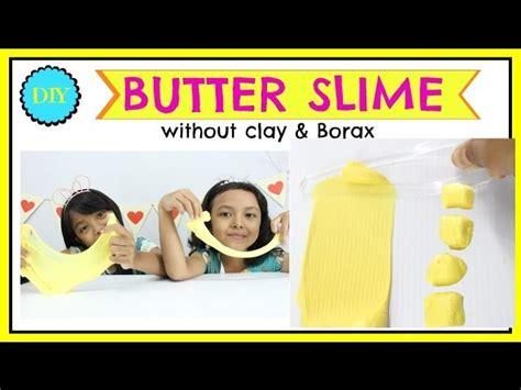 cara membuat clay slime cara membuat butter slime slime mentega diy butter