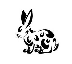 Chinese tribal the rabbit tattoo design 187 tattoo ideas