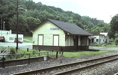 former penn rr whitford depot currently used for septa