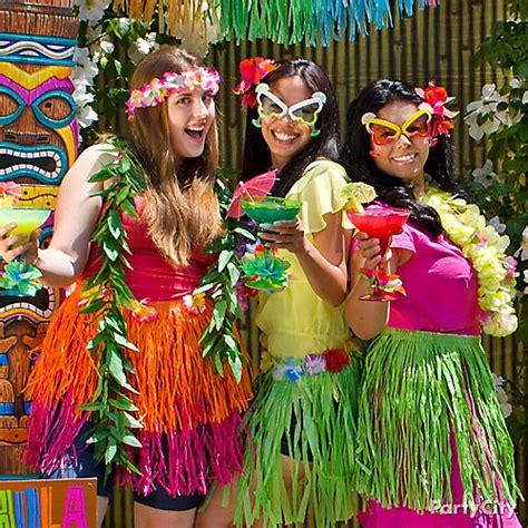 tropical themed costume ideas hula dancer dress up idea city