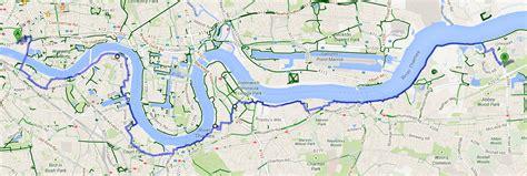 river thames cycling map london cycling thamesmead s clockwork orange greenwich