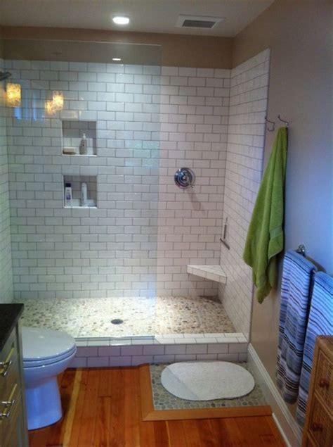 bathroom incredible doorless walk  shower designs ideas