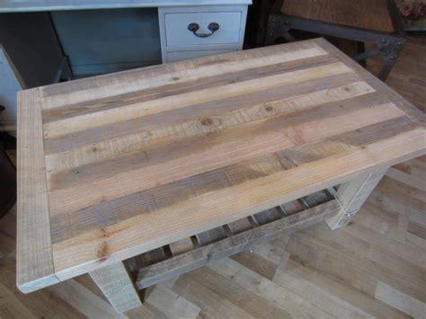 Pallett Coffee Table Reclaimed Pallet Coffee Table Namaste