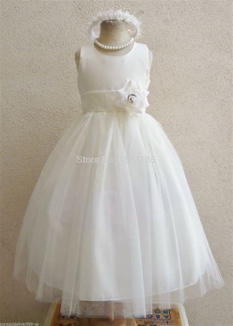Top Five Sashed Dresses by Ivory With Color Sash Infant Toddler Pageant Bridal